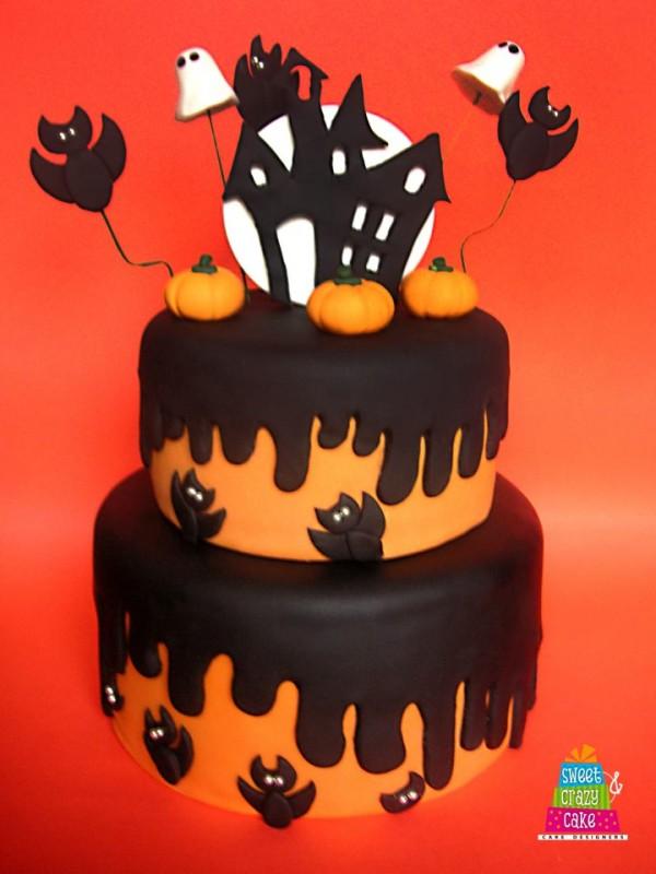 Torte per halloween ma anche biscotti meringhe e cake pop for Semplici piani per la casa del merluzzo cape