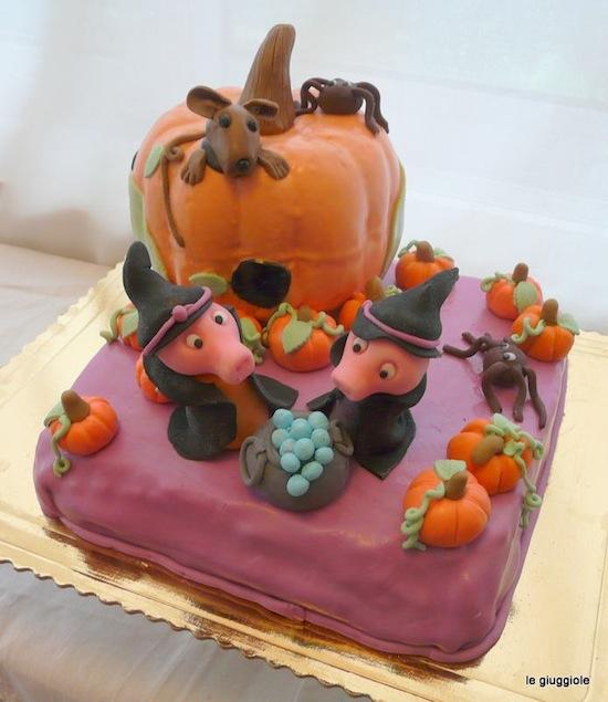 torta halloween peppa cake
