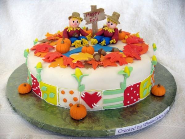 Decorated Fall Cakes Utube