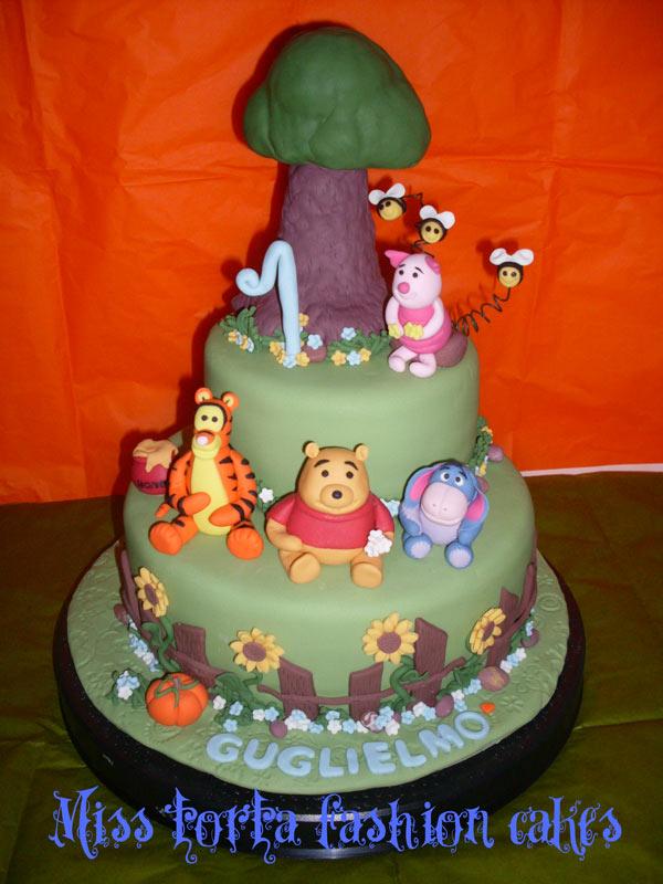 Torte winnie the pooh cakemania dolci e cake design