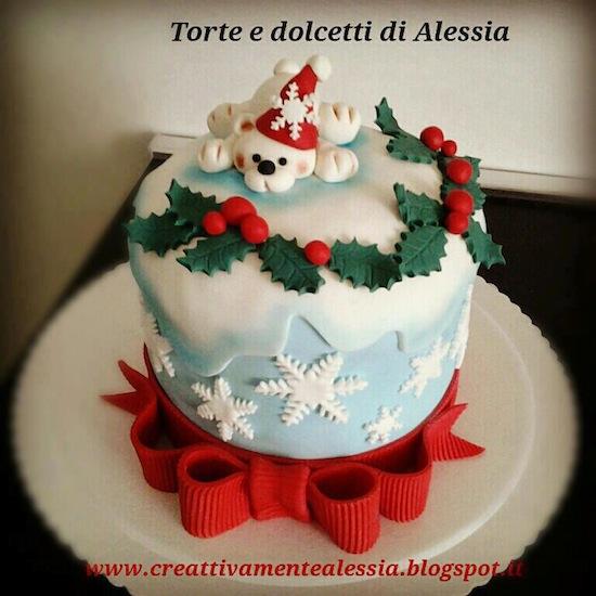 Panettoni e pandori decorati per natale quante idee - Torte natalizie decorate ...
