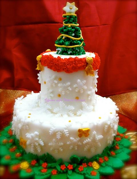 Adriana langiano - Torte natalizie decorate ...