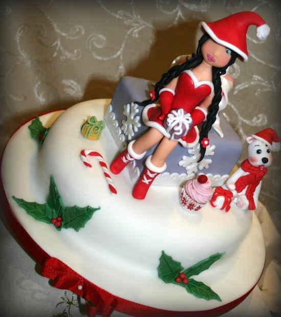 Rosa de martino - Torte natalizie decorate ...