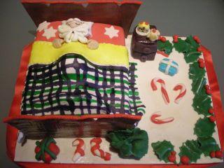 Babbo natale - Torte natalizie decorate ...