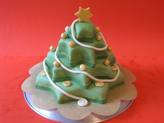 Dolce Di Natale Albero.Tutorial Di Cake Design Come Realizzare Una Torta A Forma Di Albero