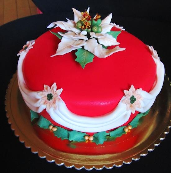 Torta natalizia elisa - Torte natalizie decorate ...