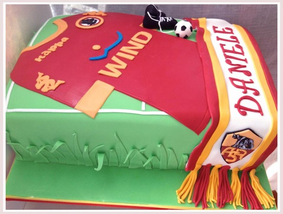 Cake Design Roma : Le torte per i tifosi della Roma - Cakemania, dolci e cake ...