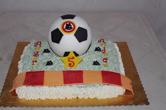 Le torte per i tifosi della Roma - Cakemania, dolci e cake ...