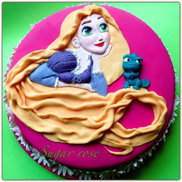 Torta Rapunzel La Gallery Di Cake Design