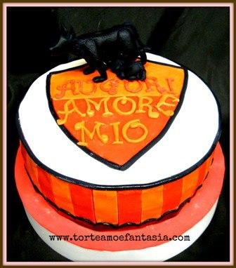 Dove Comprare Torte Cake Design Roma : Le torte per i tifosi della Roma - Cakemania, dolci e cake ...