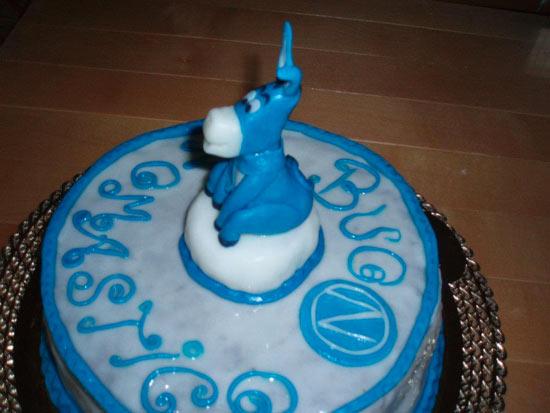 Torte per tifosi del Napoli - Cakemania, dolci e cake design
