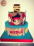 torta jake pirati