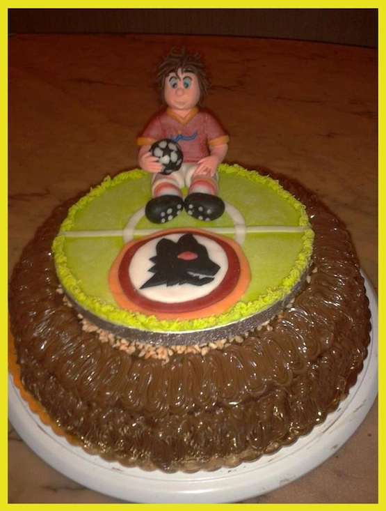 Torte Cake Design Roma Eur : Le torte per i tifosi della Roma - Cakemania, dolci e cake ...