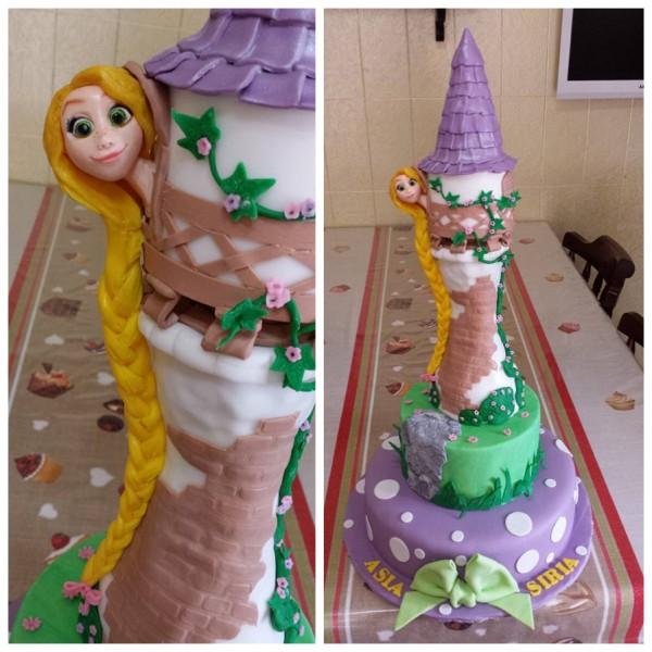 Rapunzel decorazioni torte