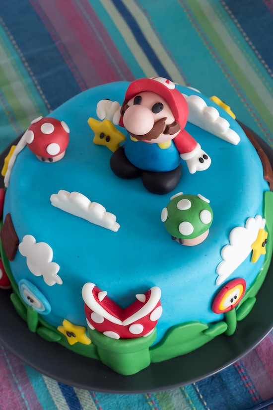 torte con super mario bros cakemania dolci e cake design. Black Bedroom Furniture Sets. Home Design Ideas