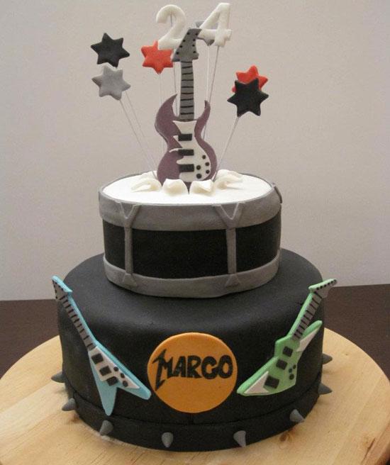 Rock Music Cake Ideas