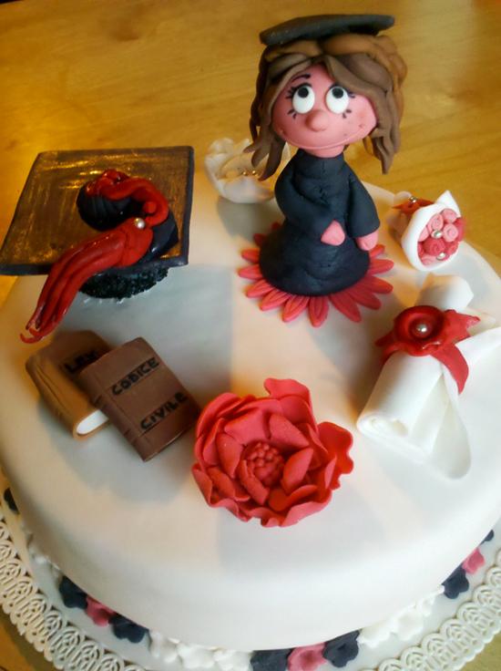 Torte per festeggiare una laurea cakemania dolci e cake for Laurea in design