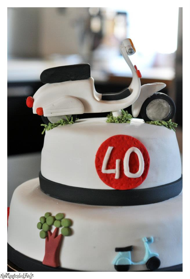 Torte Vespa Special Cakemania Dolci E Cake Design