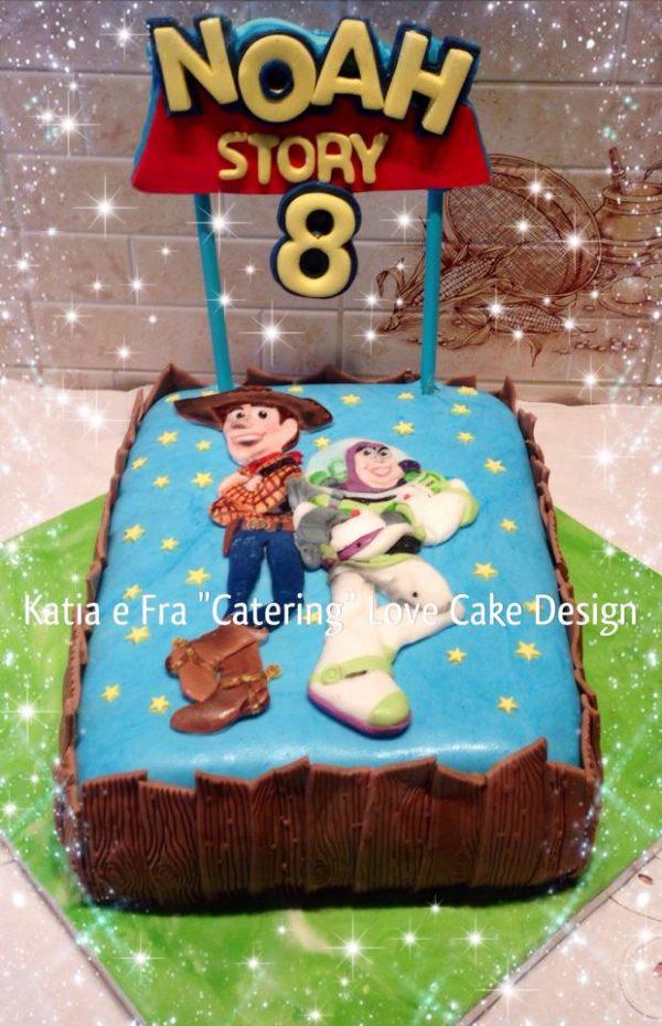 Verso l'infinito e oltre! Torta di Toy Story: idee di cake design