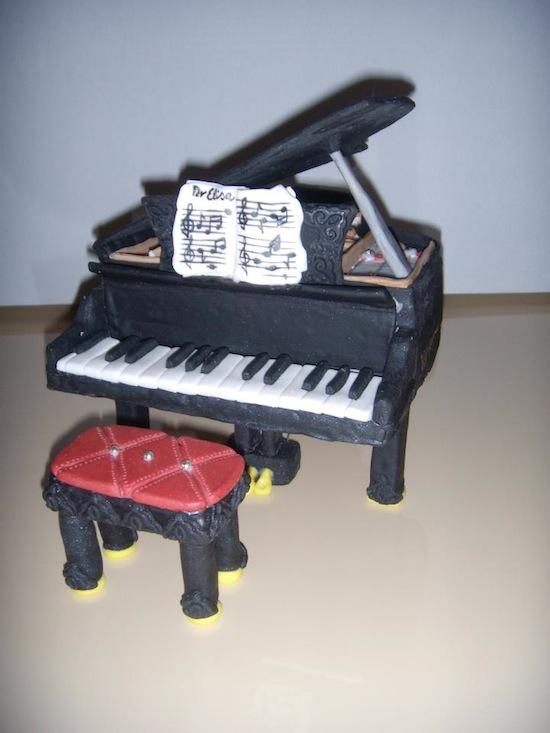 Cake Design Strumenti Musicali : Torte pianoforte - Cakemania, dolci e cake design