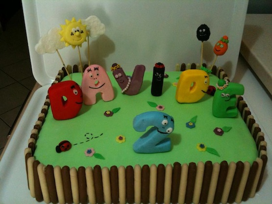 torta barbapapà 4
