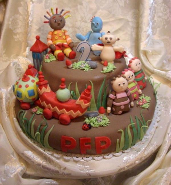 Torte di cake design per bambini: gallery torta La foresta ...
