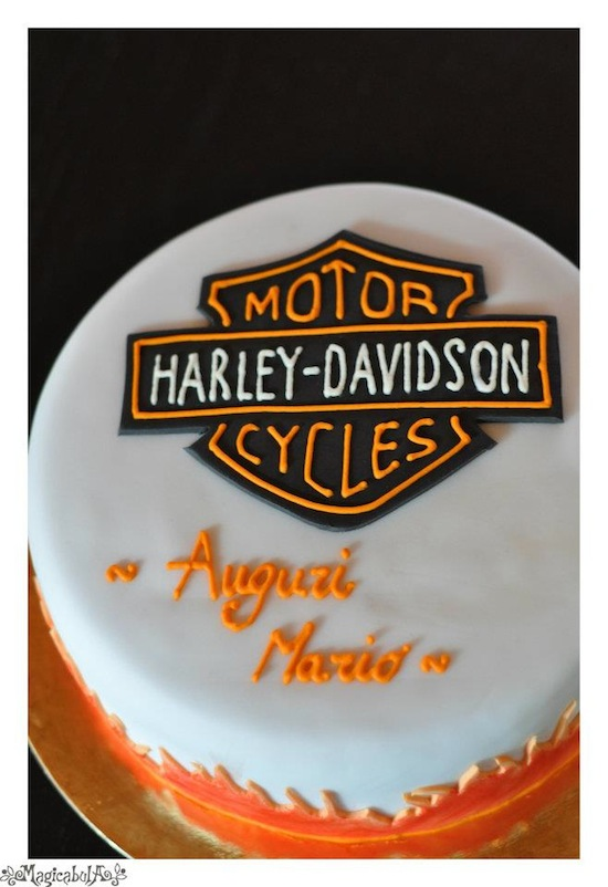 Torte per un motociclista - Cakemania, dolci e cake design