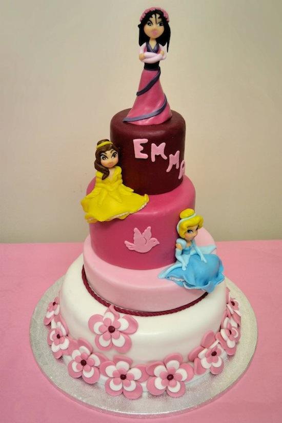 Cake Design Principesse Disney : L arte della torta