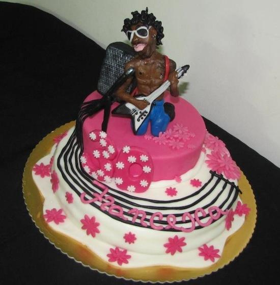 Associazione Italiana Cake Design : Lenny Kravitz Le Chicche di Gabriella