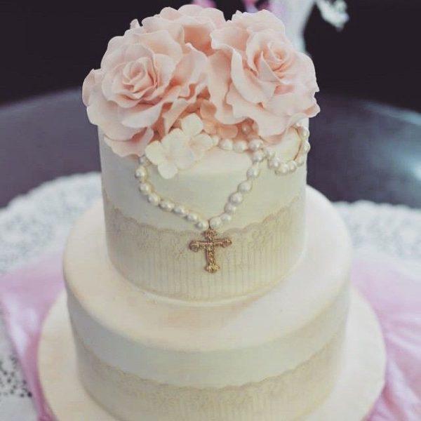 torta battesimo femmina