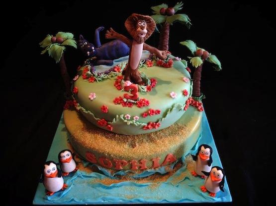 Torte Madagascar E Torte Zoo Per Piccoli Amanti Dei Safari