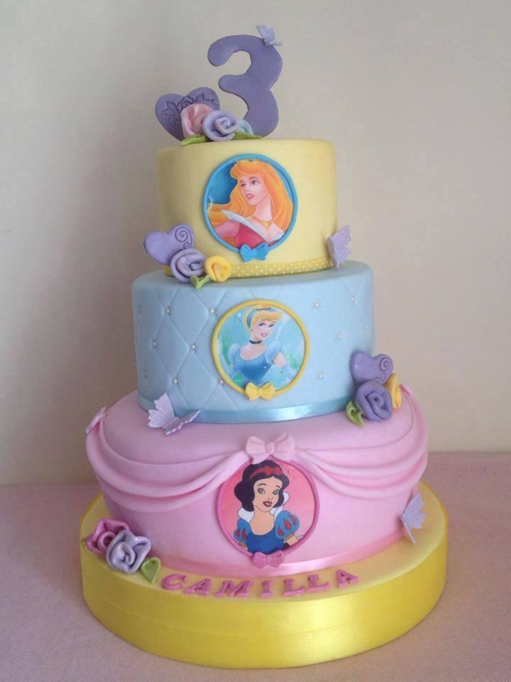 Cake Design Principesse Disney : Mariella Tafuri