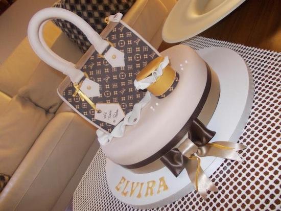 Torte a forma di borsa Louis Vuitton 4