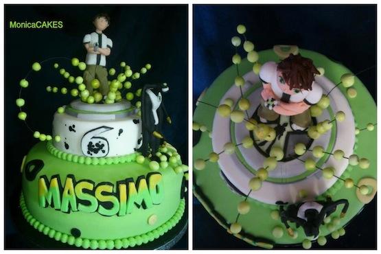 Ben Ten Cake Images