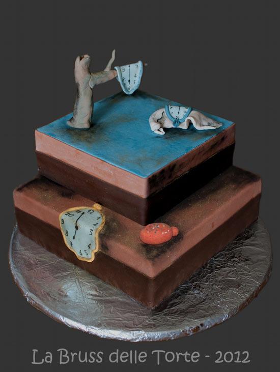 Salvador Dalì visto da © La Bruss delle torte