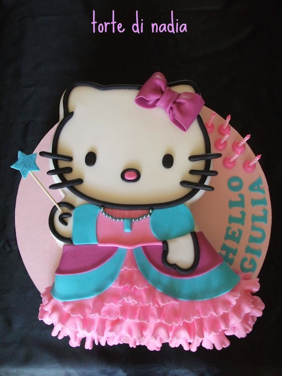 Torte Hello Kitty Di Cake Design Cakemania Dolci E Cake