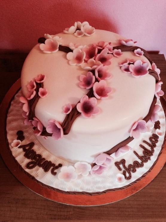 Torte Con Alberi In Fiore Cakemania Dolci E Cake Design