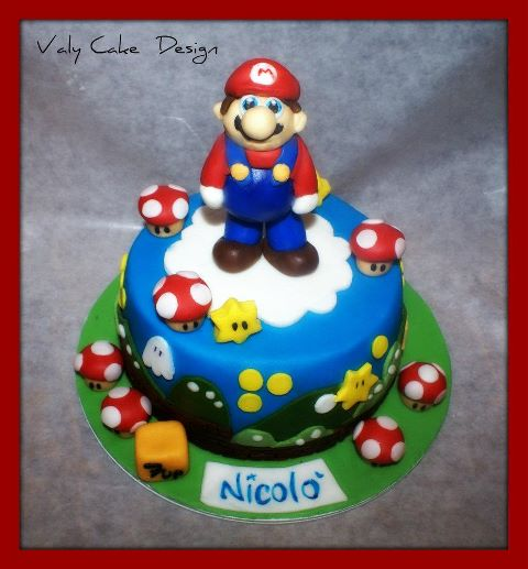 Torte Decorate Con Super Mario Bros Cakemania Dolci E