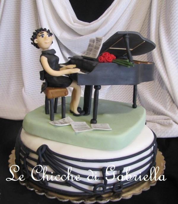 Cake Design Strumenti Musicali : Torta pianoforte: gallery di cake design di torte decorate