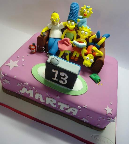 Torte con i Simpson - Cakemania, dolci e cake design