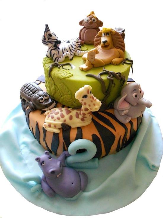 Torte madagascar e torte zoo per piccoli amanti dei safari - Immagini di animali dello zoo per bambini ...