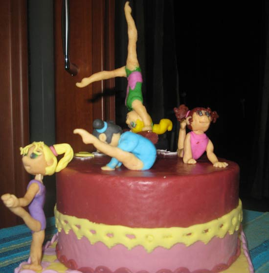 torte ginnastica ritmica e artistica cakemania dolci e