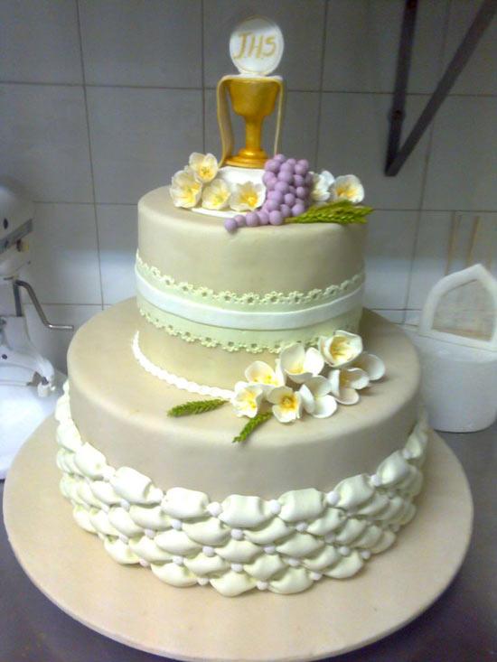 Famoso Bomboniere uncinetto battesimo: Immagini di torte per prima  BS18