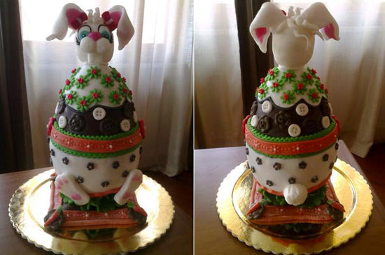 Uova di pasqua decorate cakemania dolci e cake design - Uova decorate per pasqua ...