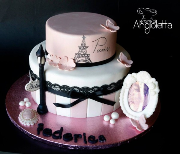 Makeup Design Birthday Cakes