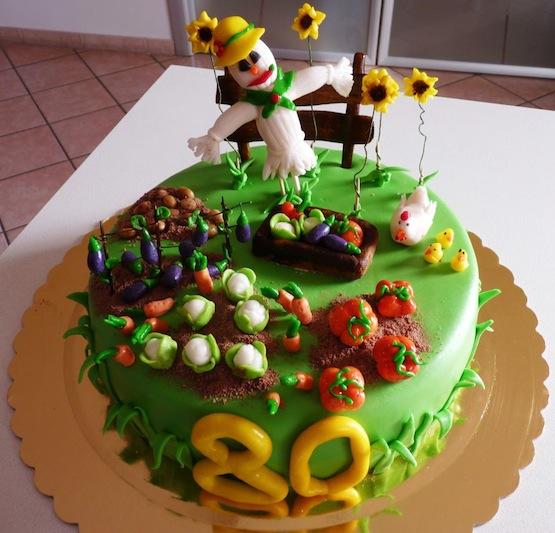 Torta Giardino Torta Orto Il Cake Design Che Sembra