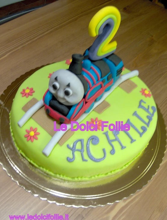 Cake Design Trenino Thomas : Torte con il Trenino Thomas - Cakemania, dolci e cake design