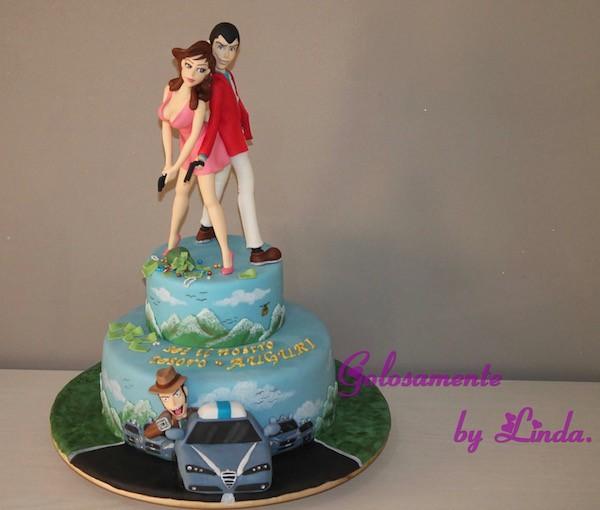 Gâteau Lupin