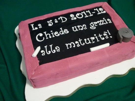 torta scuola maturita