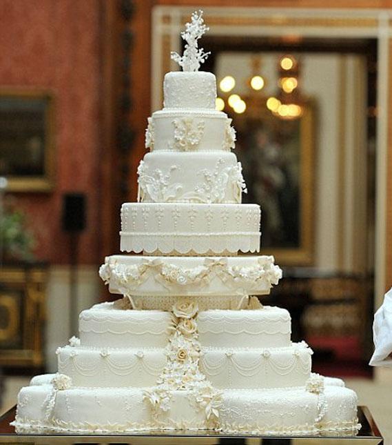La torta realizzata da Fiona Cairns per il matrimonio di William e Kate